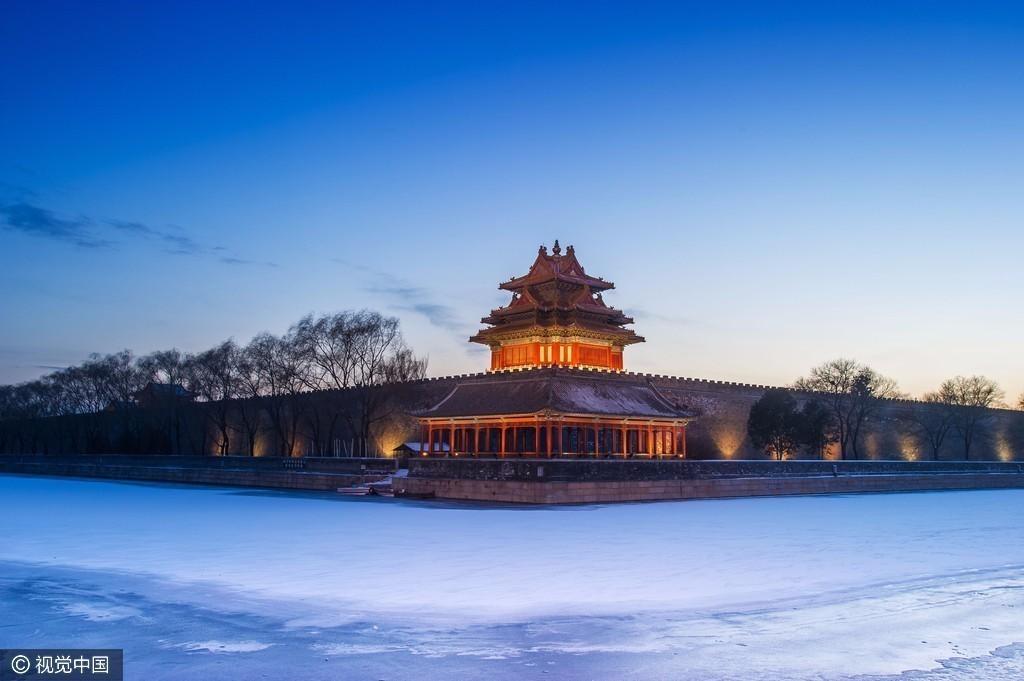 北京的第一场雪